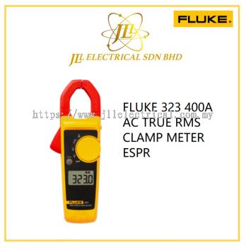 FLUKE 323 400A AC TRUE RMS CLAMP METER ESPR