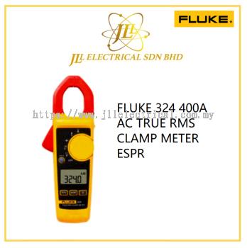 FLUKE 324 400A AC TRUE RMS CLAMP METER ESPR