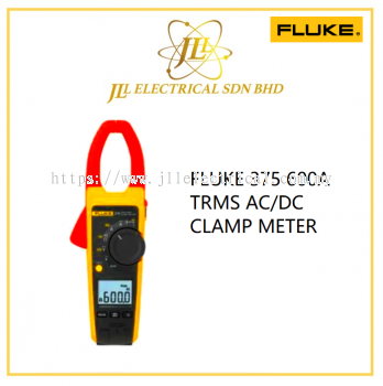 FLUKE 375 600A TRMS AC/DC CLAMP METER
