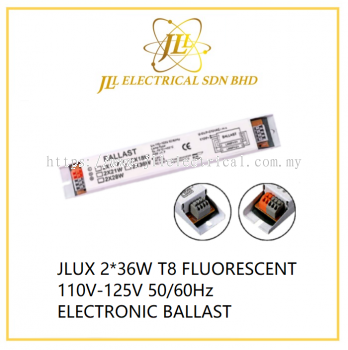 JLUX 2*36W T8 FLUORESCENT 110V-125V 50/60Hz ELECTRONIC BALLAST for ship use