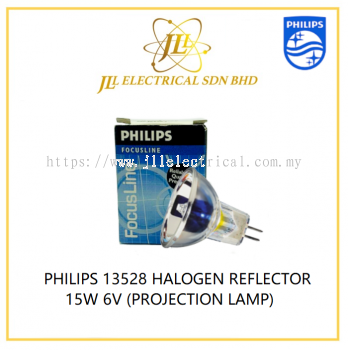 PHILIPS 13528 HALOGEN REFLECTOR 15W 6V (PROJECTION LAMP)