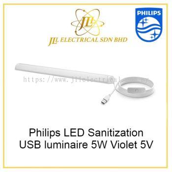 Philips LED Sanitization USB luminaire 5W Violet 5V 929002458307