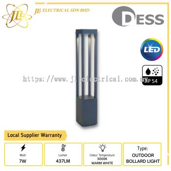 DESS GLHI9453-650 OUTDOOR BOLLARD LIGHT
