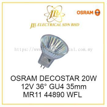OSRAM DECOSTAR 20W 12V 36�� GU4 35mm MR11 44890 WFL