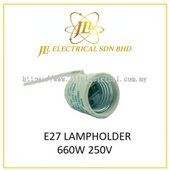 E27 LAMPHOLDER 660W 250V