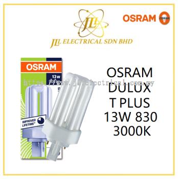 OSRAM DULUX T PLUS 13W 830 3000K COMPACT FLUORESCENT LAMP