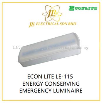 ECON LITE LE-115 ENERGY CONSERVING EMERGENCY LUMINAIRE