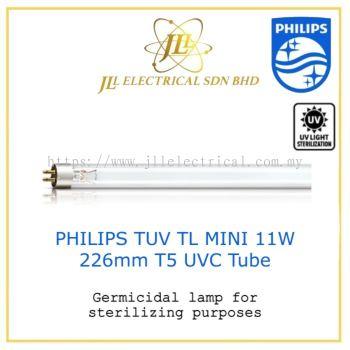 PHILIPS TUV T5 TL MINI 11W (226mm, 0.75 feet) UVC T5 GERMICIDAL LAMP FOR STERILISING & DRYING