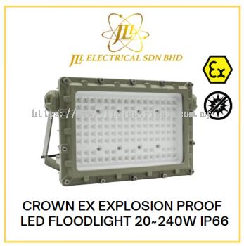 CROWN EX EXPLOSION PROOF LED FLOODLIGHT 20~240W IP66 100-240VAC 50~60Hz GYD720 SERIES