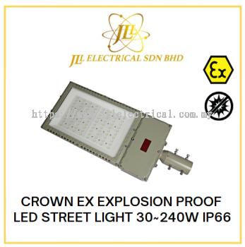 CROWN EX EXPLOSION PROOF LED STREET LIGHT 30~240W IP66 100-240VAC 50~60Hz GYD970L SERIES