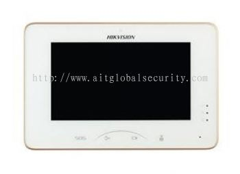Video Intercom Indoor Station with 7-inch Touch Screen - DS-KH8300-T
