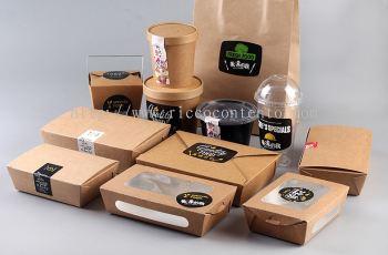 Take Away Food Packaging Series