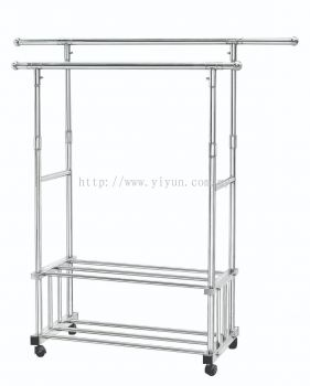2 Bar 2 Layer Steel Clothe Hanger