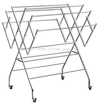W-shape Steel Clothe Hanger