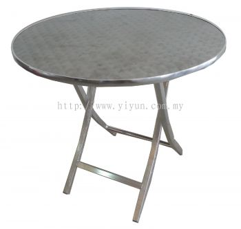 Foldable Round Cafe Table