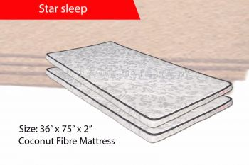 302 Star Sleep (Coconut Fibre Mattress)