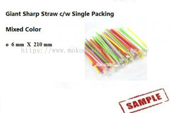 7 Giant Straw color 6 x 210