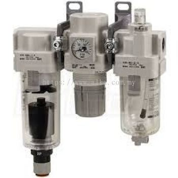 SMC Filter-Regulator-Lubricator (FRL)