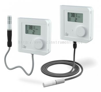 Electronic Hygro-Thermostat with remote sensor head