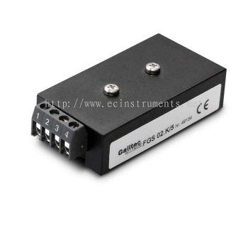 Humidity sensor for condensation control