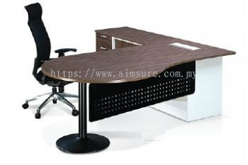 Crina L shape directo table front view
