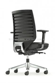 Presidential Mediumback Netting chair AIM 8212L
