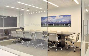 Glass-Wall meeting room design malaysia