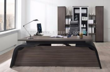 Farrano executive L shape table (front view)