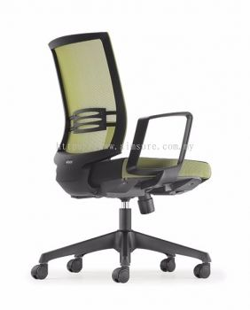 Intouch Presidential low back chair AIM8313N-NHB