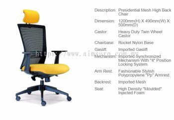 Talent high back chair AIM2655E
