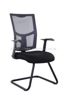 Netting medium back visitor chair AIM18VMM