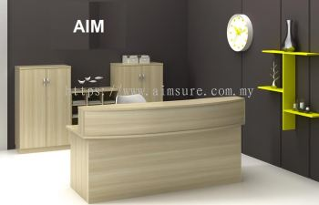 Curve reception counter AIM 1800C (Front)