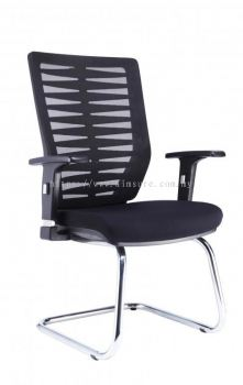Visitor chair with chrome candilever base AIM2VA-Leaf