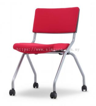 Executive cushion folding chair without armrest AIM2P-AXIS