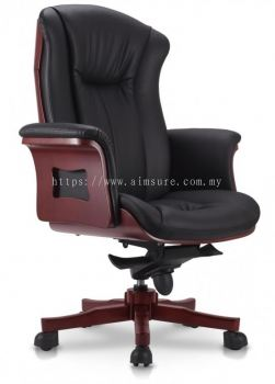 Director high back wooden base chair AIM9901-BOSS
