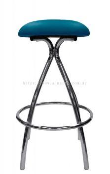 High round bar stool AIM813-H