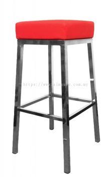 High square bar stool AIM816-H