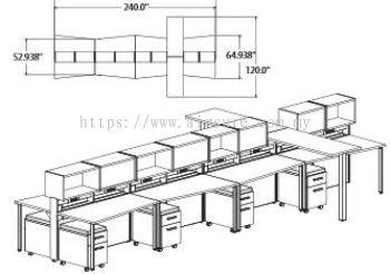 Call centre workstation design