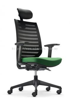 Presidential Highback Netting chair AIM8211N-NHB