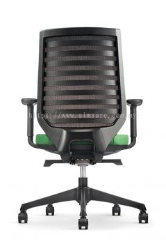 Presidential Mediumback chair AIM8212N-NHB (Back view)