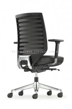 Presidential Mediumback Netting chair AIM 8212L-AHB