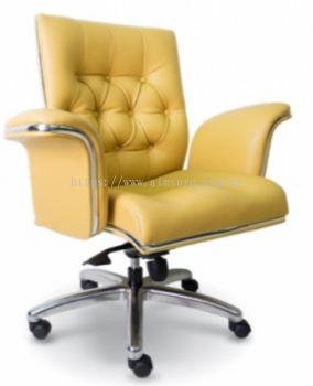 Grand Director low back chair AIM1087HY(Chrome) Side view
