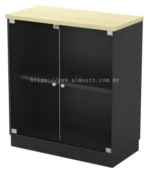 Low Cabinet with Swinging Glass Door T2