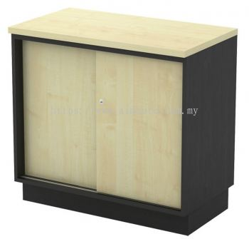 Low cabinet with sliding door 750H T2