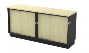 Dual Sliding Door Low Cabinet T2