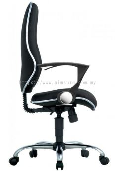 Secretary highback chair AIM292B-ELIXIR
