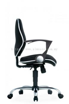 Secretary low back chair AIM272B-ELIXIR