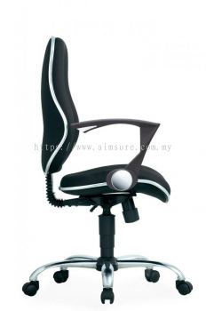 Secretary medium back chair AIM282B-ELIXIR