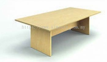 Rectangular conference table maple colour