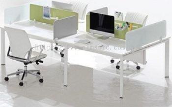 Frameless Desking workstation